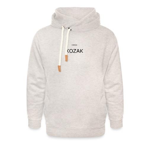 KOZAK - Bluza z szalowym kołnierzem unisex
