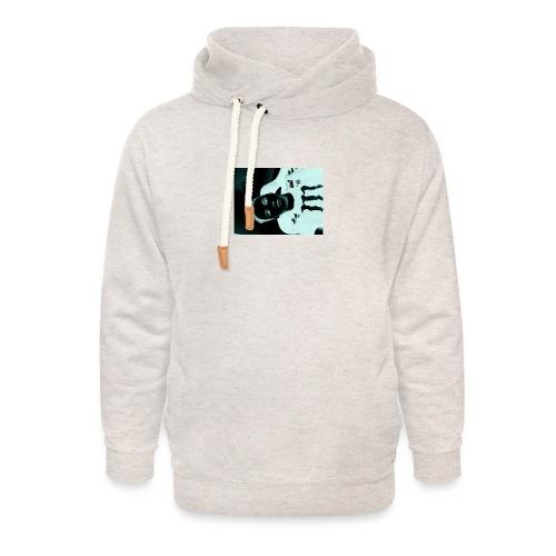 Mikkel sejerup Hansen T-shirt - Unisex hoodie med sjalskrave