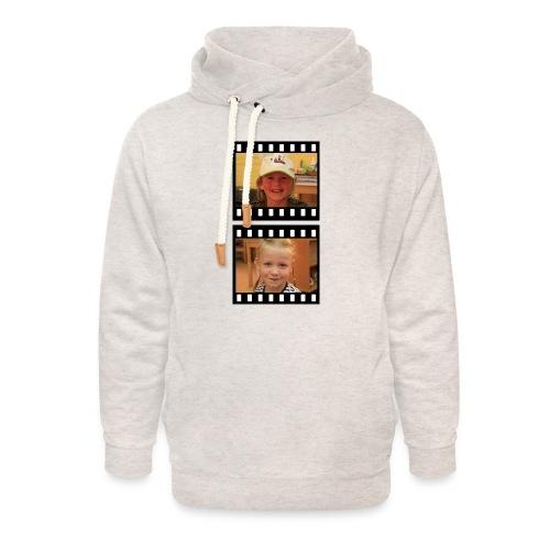lente tess png - Unisex sjaalkraag hoodie