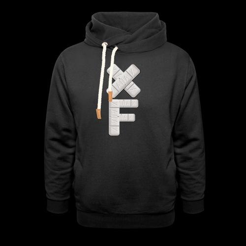 XF Xanax Logo - Unisex Schalkragen Hoodie