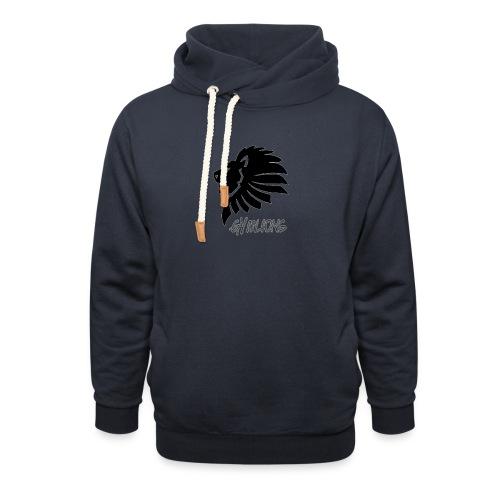 Gymlions T-Shirt - Unisex Schalkragen Hoodie