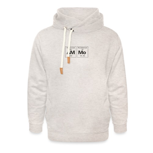 Ammo - Unisex hoodie med sjalskrave