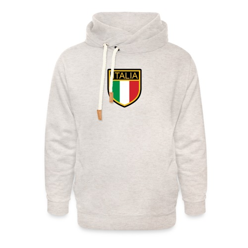 SCUDETTO ITALIA CALCIO - Felpa con colletto alto unisex