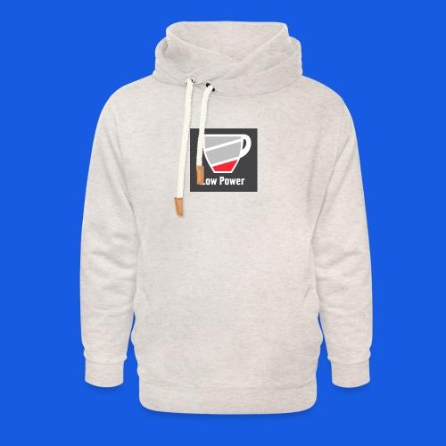 Low power need refill - Unisex hoodie med sjalskrave