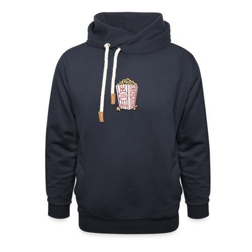 Popcorn trøje   ML Boozt   - Unisex hoodie med sjalskrave