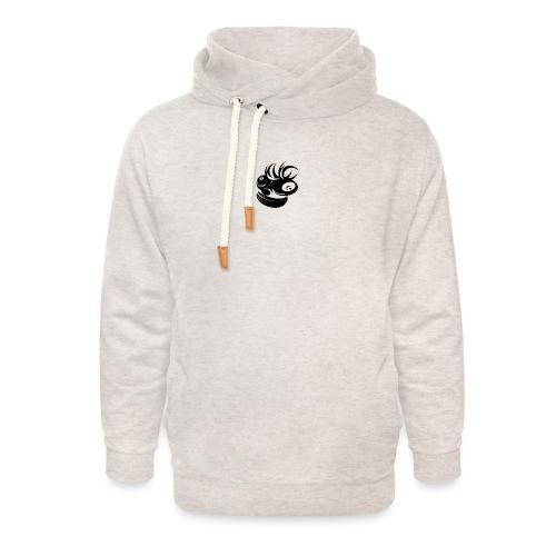gekke aap - Unisex sjaalkraag hoodie