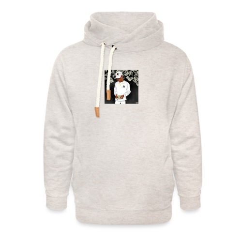 Nigga - Unisex hoodie med sjalskrave