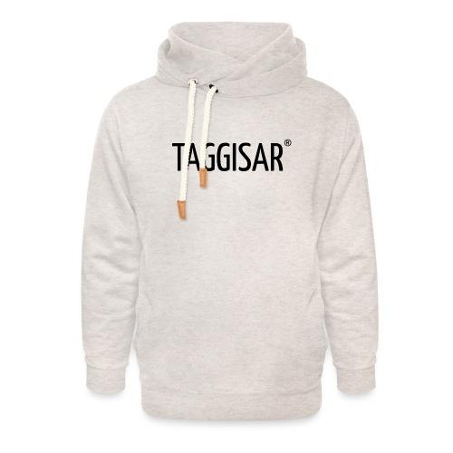 Taggisar Logo Black - Luvtröja med sjalkrage unisex