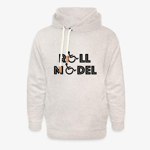 Rolstoel model - Unisex sjaalkraag hoodie