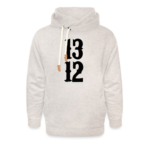 1312 - Unisex Schalkragen Hoodie