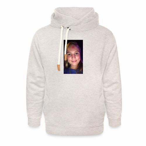 Anouktzj - Unisex sjaalkraag hoodie