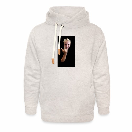 Anouktzj 2.0 - Unisex sjaalkraag hoodie