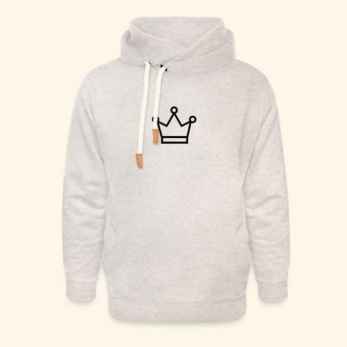 The Queen - Unisex hoodie med sjalskrave