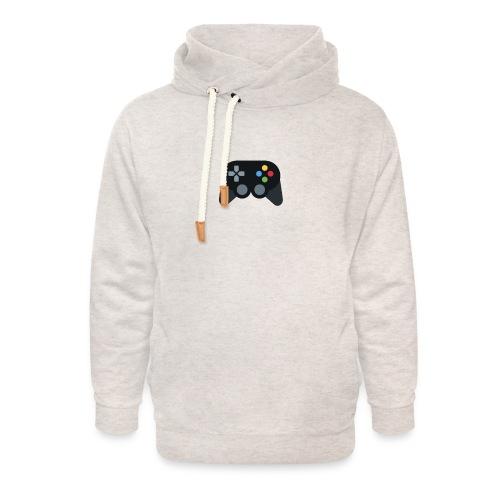 Spil Til Dig Controller Kollektionen - Unisex hoodie med sjalskrave