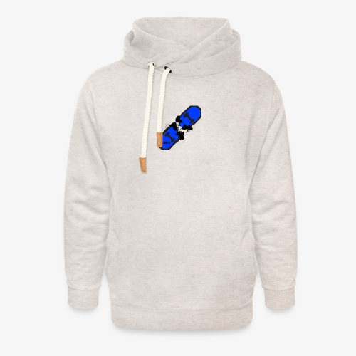 skateboard 512 - Unisex hoodie med sjalskrave
