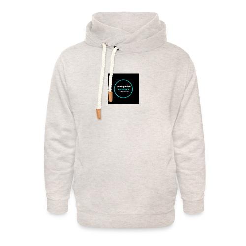 MaxSpanish - Unisex sjaalkraag hoodie