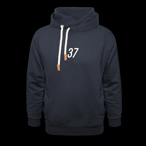 37 Apparel Small Logo Hoodie - Unisex Shawl Collar Hoodie
