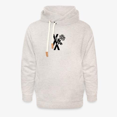 EST19XX ROSE - Unisex sjaalkraag hoodie