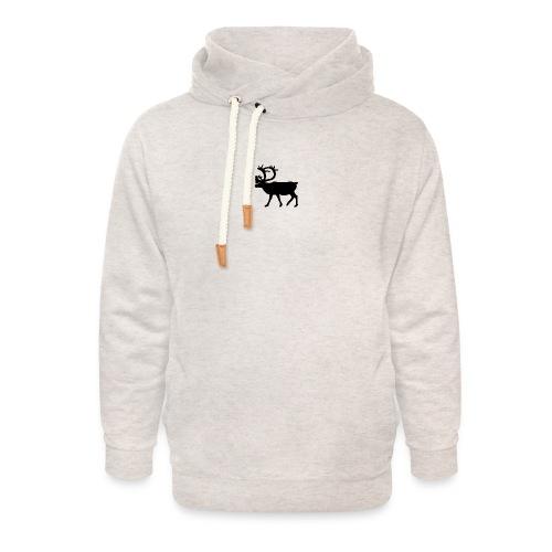 Le Caribou - Sweat à capuche cache-cou unisexe
