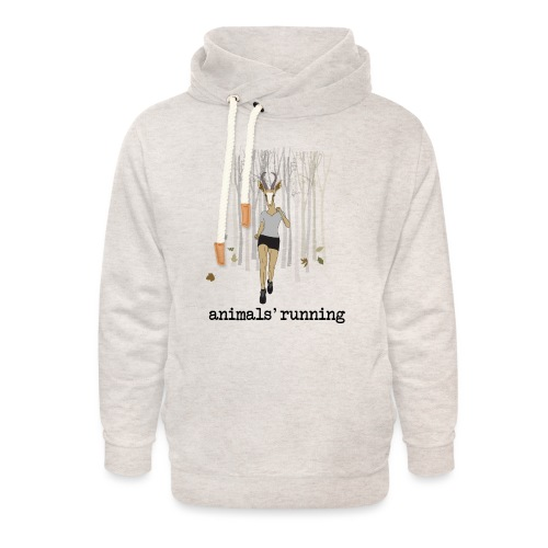 Antilope running - Sweat à capuche cache-cou unisexe