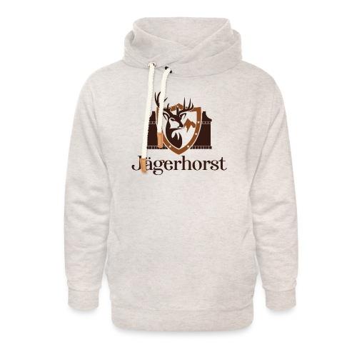 Jägerhorst Logo - Unisex Schalkragen Hoodie