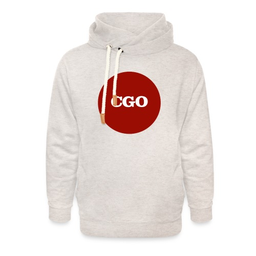 watermerk cgo - Unisex sjaalkraag hoodie