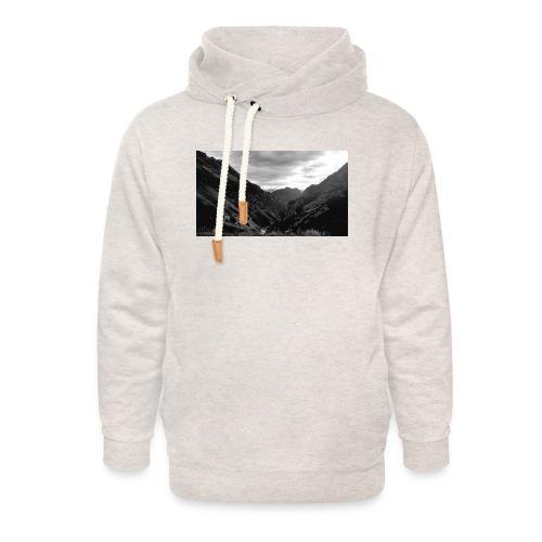 Wanderlust - Unisex sjaalkraag hoodie
