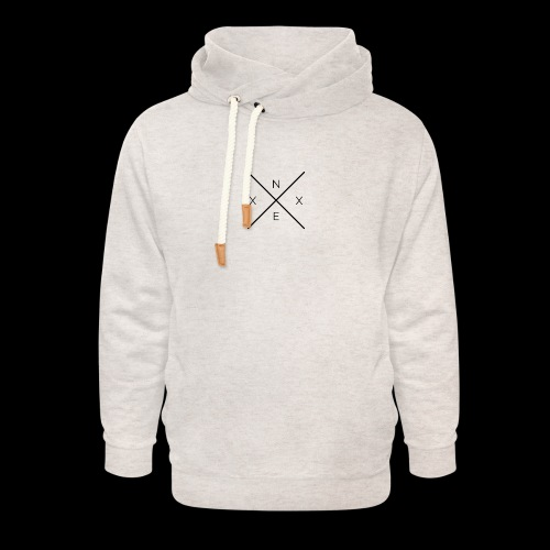 NEXX cross - Unisex sjaalkraag hoodie