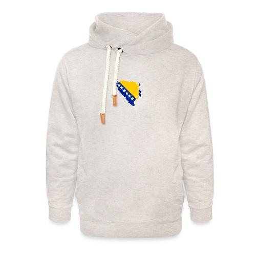 Bosnia and Hercegovina - Unisex hoodie med sjalskrave