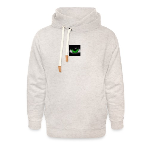 Green eye - Unisex Shawl Collar Hoodie