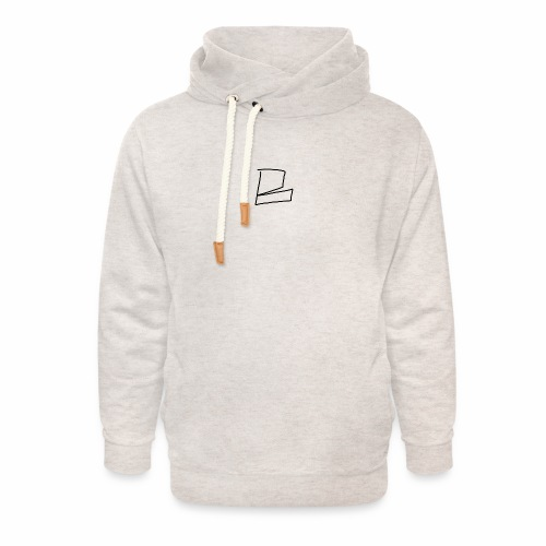 the original B - Unisex Shawl Collar Hoodie