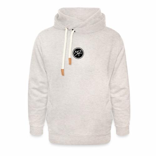 Logo MY2K noir - Sweat à capuche cache-cou unisexe