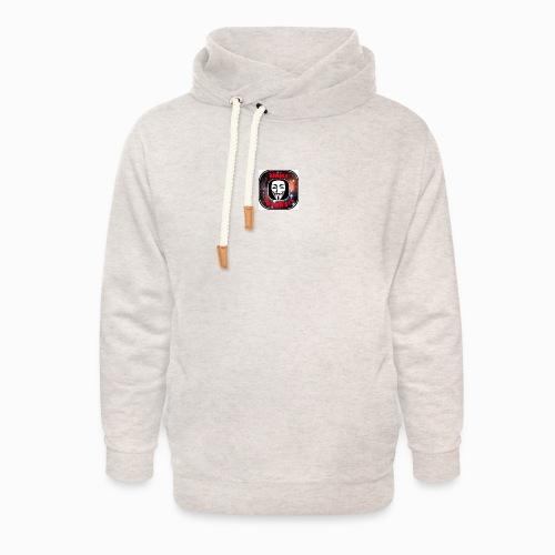 Always TeamWork - Unisex sjaalkraag hoodie