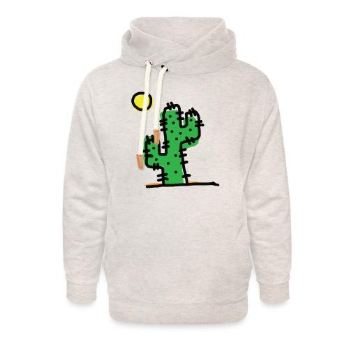 Cactus single - Felpa con colletto alto unisex
