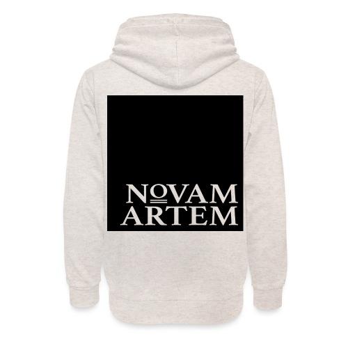 NOVAM ARTEM BLACK SQUARE - Unisex hoodie med sjalskrave