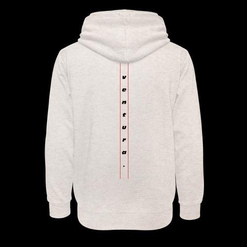 Ventura Back Logo - Unisex sjaalkraag hoodie