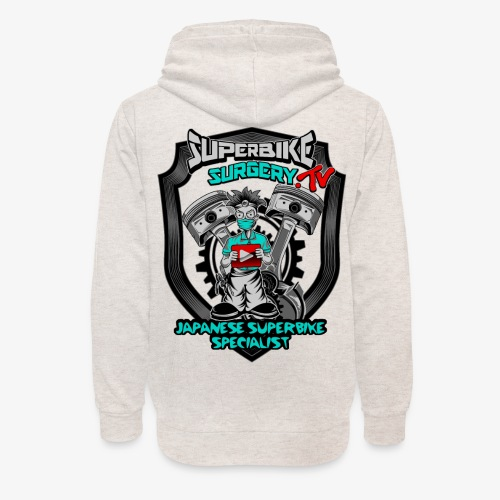 Superbike Surgery TV - Unisex Shawl Collar Hoodie