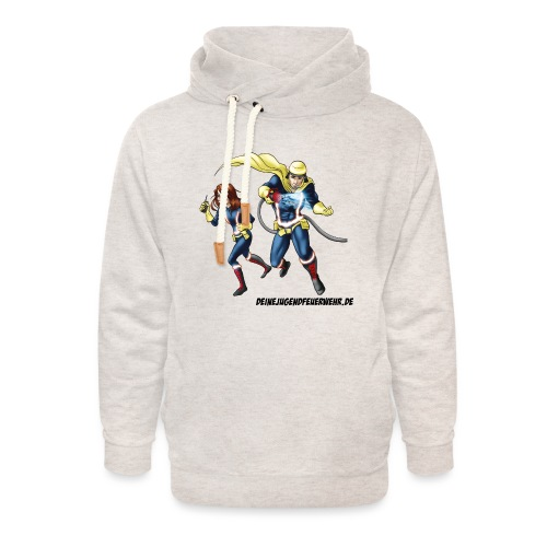 1+1=2Eine gute Connection - Unisex Schalkragen Hoodie