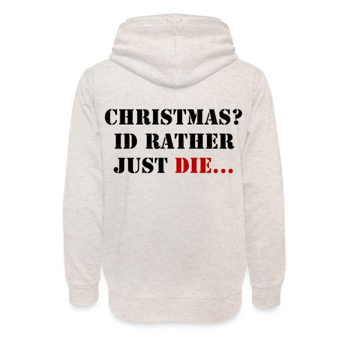 Christmas joy - Unisex Shawl Collar Hoodie