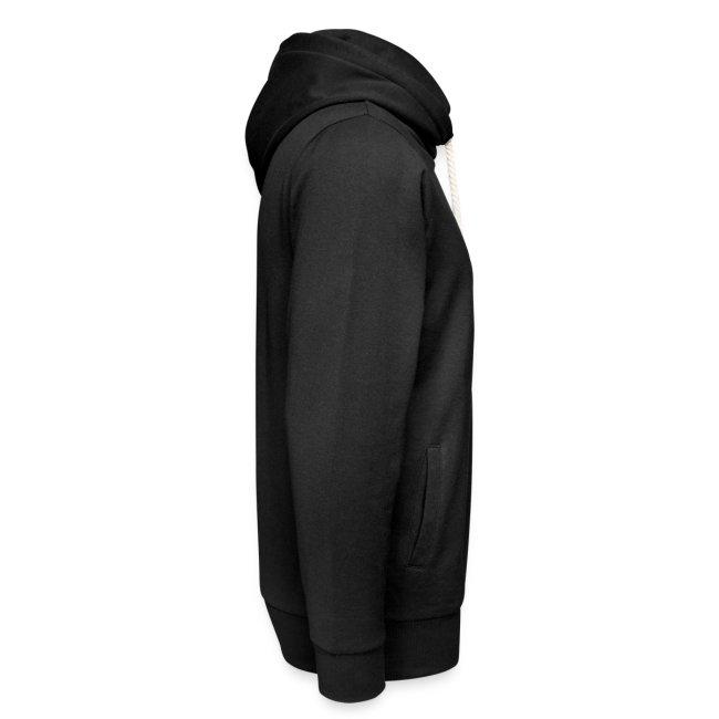 Vorschau: spreche mit meinem HUND - Unisex Schalkragen Hoodie