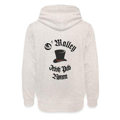 O Malley Logo 2020 - Unisex hoodie med sjalskrave