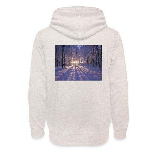 Wintercollectie - Unisex sjaalkraag hoodie