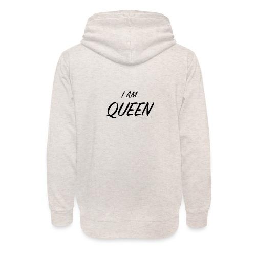 Queen - Sweat à capuche cache-cou unisexe