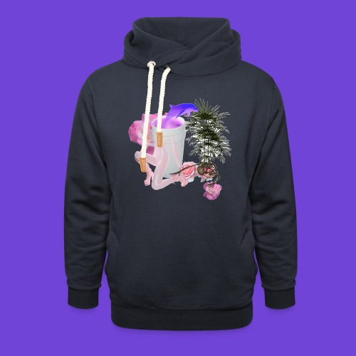 Purple Drank - Felpa con colletto alto unisex