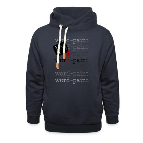 Word - paint - Felpa con colletto alto