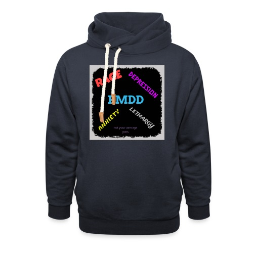 Pmdd symptoms - Shawl Collar Hoodie