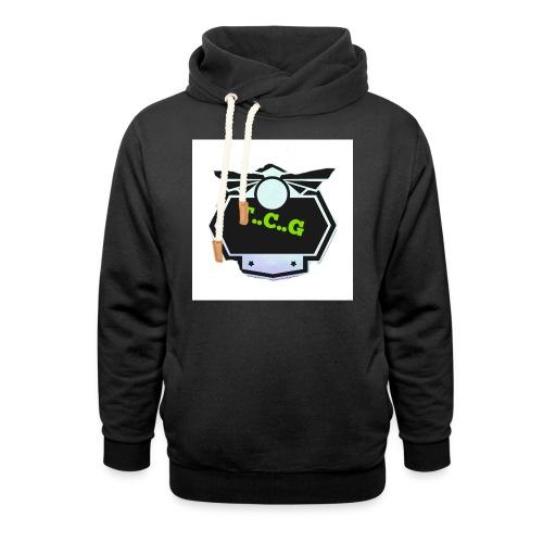 Cool gamer logo - Shawl Collar Hoodie