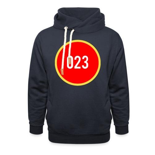 023 logo 2 - Unisex sjaalkraag hoodie