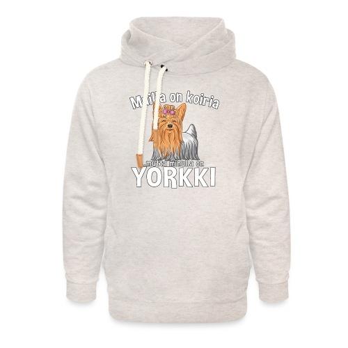 Yorkki Koiria - Unisex huivikaulus huppari