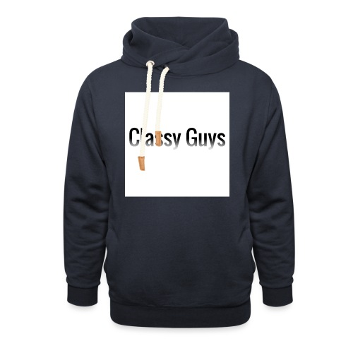 Classy Guys Simple Name - Shawl Collar Hoodie